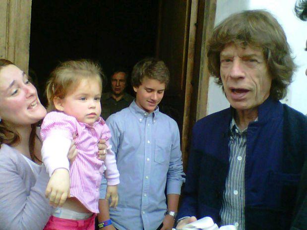Mick Jagger en Lima