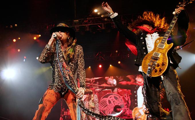Aerosmith en Lima 2011