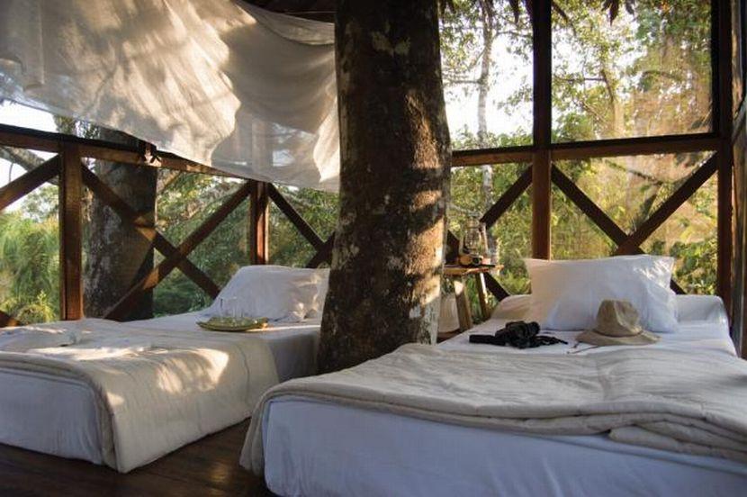 Hotel donde se hospeda Mick Jagger en Puerto Maldonado