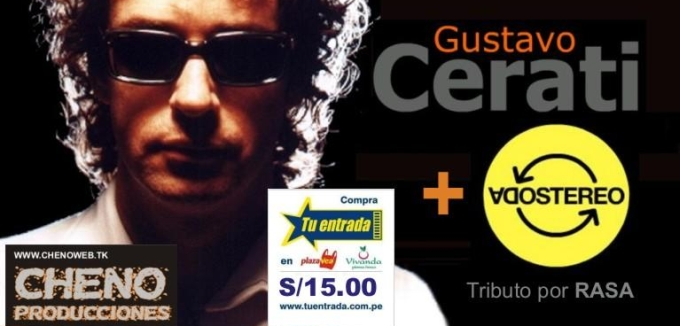 tributo a Gustavo Cerati