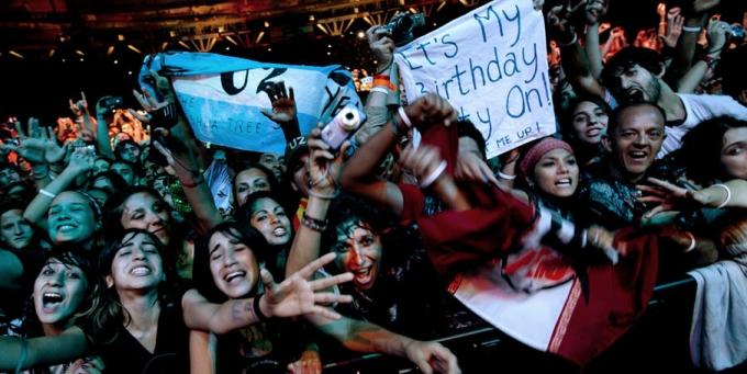 U2 en Argentina Estare en Perú