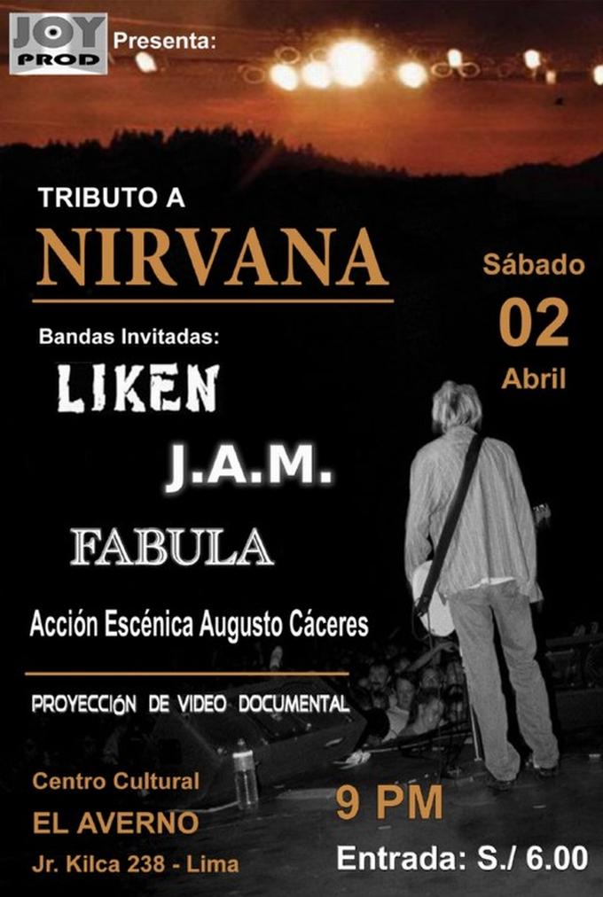 Tributo Nirvana en Lima