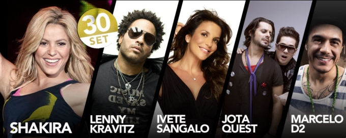 Rock in Rio Line-Up