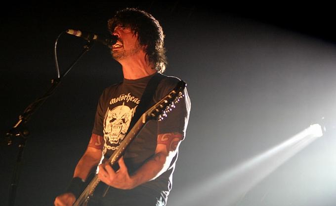 Foo Fighters en el 2005