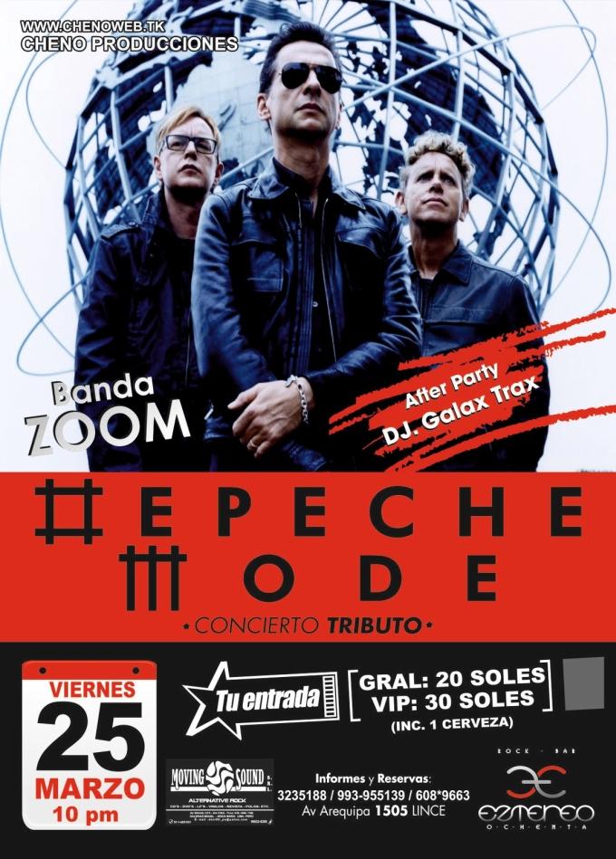 Tributo a Depeche Mode en Lima
