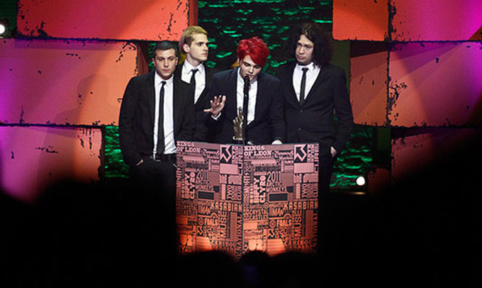 Chemical Romance NME 2011