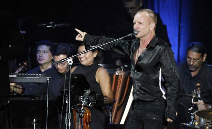 Sting en Lima