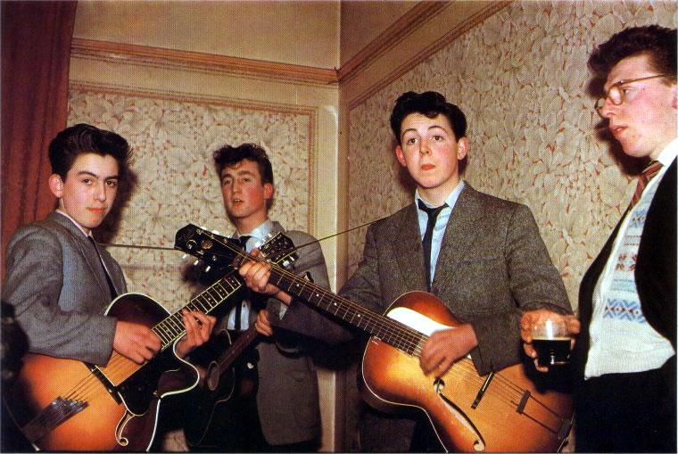 The Beatles - Foto Color - 1957 - www.todoRock.pe
