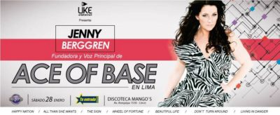 Ace of Base en Lima