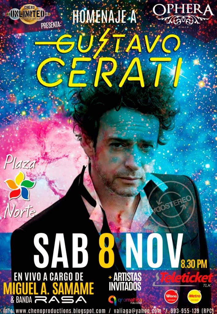 Tributo Cerati - Ophera - 08Nov2014