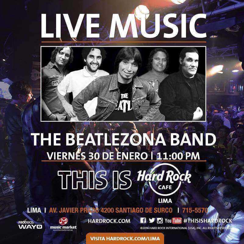 Tributo a The Beatles en Lima