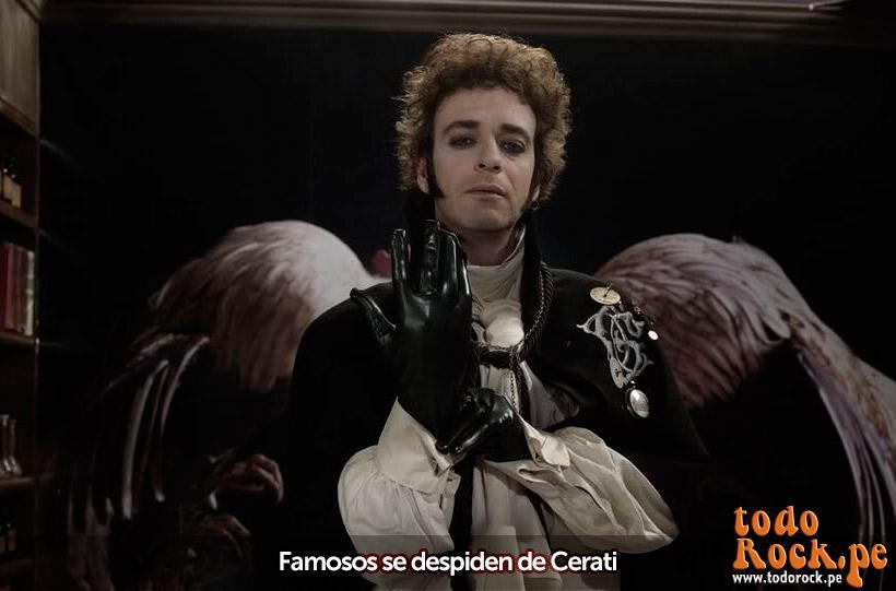 Gustavo Cerati murió