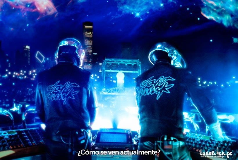 Daft Punk como se ven en el 2014