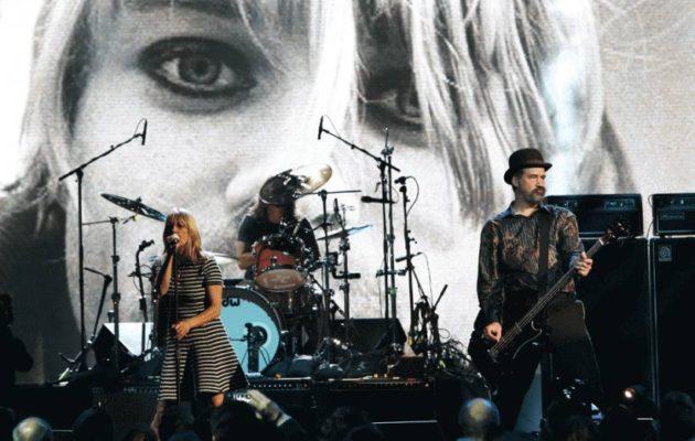 Kim Gordon y Nirvana