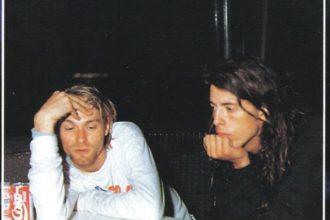 Kurt Cobain y Dave Ghrol