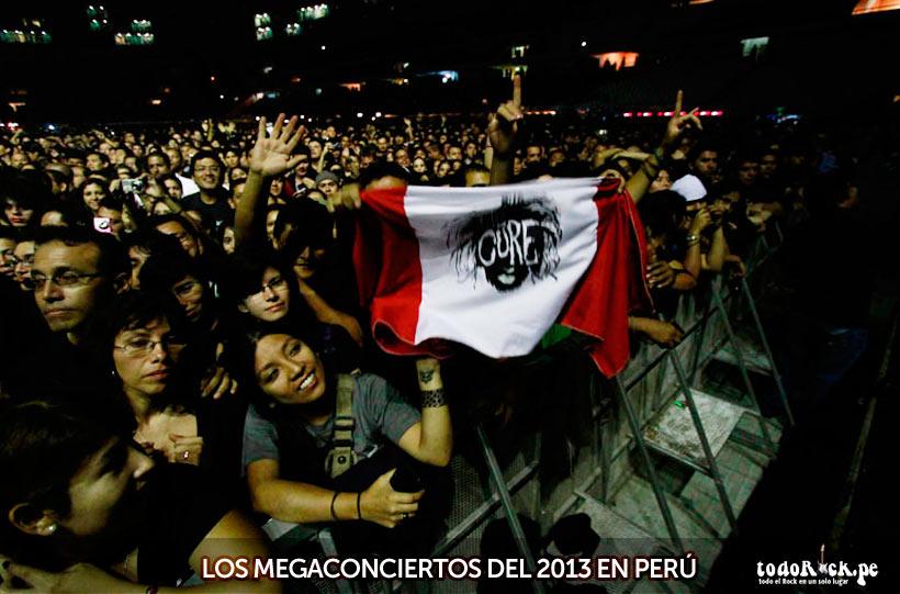 Megaconciertos del 2013 en Perú