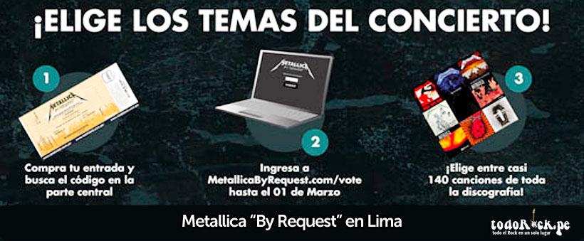 Metallica en Lima 2014